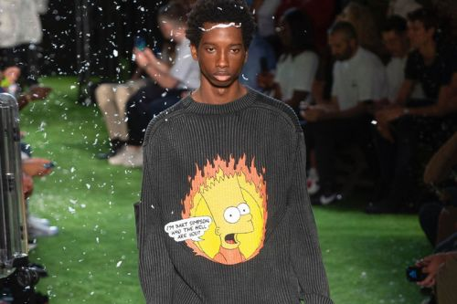 Off-White™ SS19 References 'The Simpsons' & Artist Dondi White
