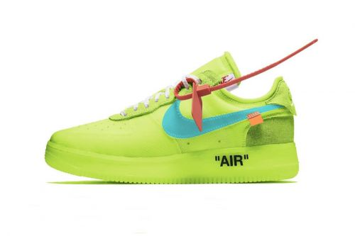 Potential Nike Air Force 1 x Off-White™ May See Infant Sizing This Year