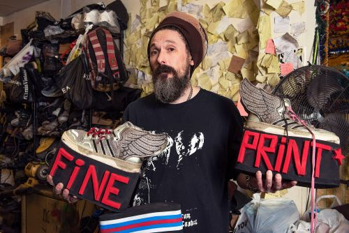 This tiny, 25-year-old shoe shop makes custom kicks for Madonna
