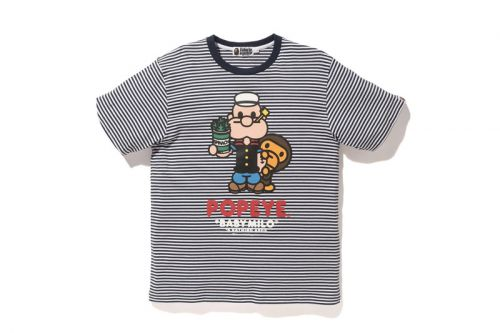 BAPE Celebrates Popeye With New Graphic Collection