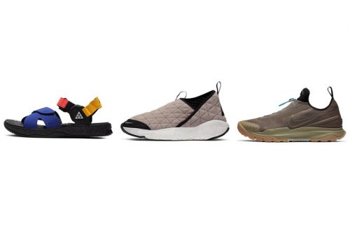 Nike ACG Readies New Air Deschutz Sandals, Air Zoom AOs and Moc 3.0s for Fall 2020