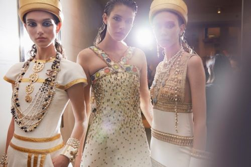 Inside Chanel's Blockbuster Egypt-Themed Show