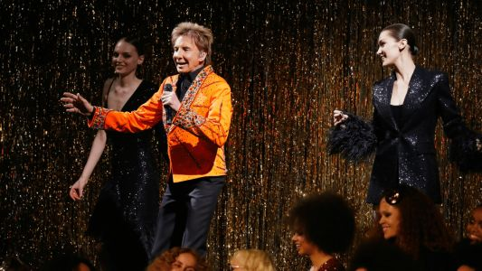 Barry Manilow Shuts Down Michael Kors's Studio 54-Themed Fall 2019 Runway