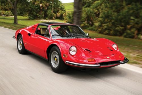 A Classic 1974 Ferrari Dino Is Available at Auction