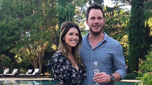 Katherine Schwarzenegger Stuns in Two Armani Dresses During Wedding to Chris Pratt