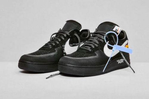 "Off-White™'s Nike Air Force 1 ""Black"" & ""Volt"" Official Store List"