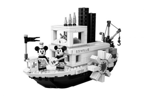 'Steamboat Willie' Immortalized by LEGO IDEAS