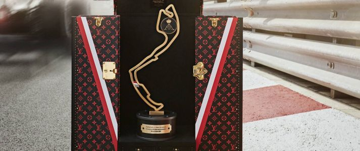 See Louis Vuitton's Official Formula 1 Grand Prix de Monaco Trophy Traveling Case
