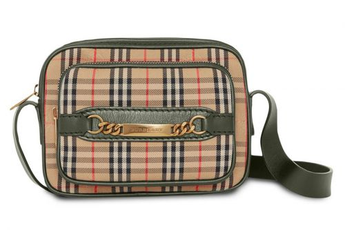 This Burberry Check Link Camera Bag Utilizes a Classic Print Dating Back to 1983