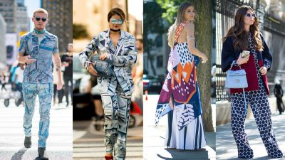 Head-to-Toe Prints Made Street Style an Absolute Delight on Day 6 of NYFW