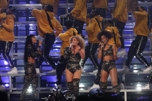 Photo: Beyonce.comQueen Bey, Kelly Rowland, and Michelle