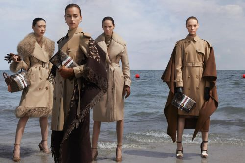 It's A Battle of The Generations In Riccardo Tisci's Burberry AW19 Campaign