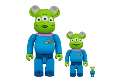Medicom Toy Channels Aliens from 'Toy Story' in New BE RBRICK
