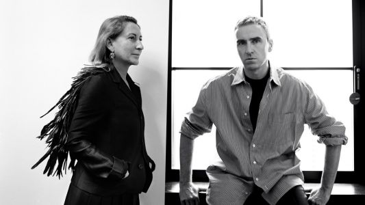 Dream Team: Raf Simons & Miuccia Prada Are Now Co-Creative Directors of Prada