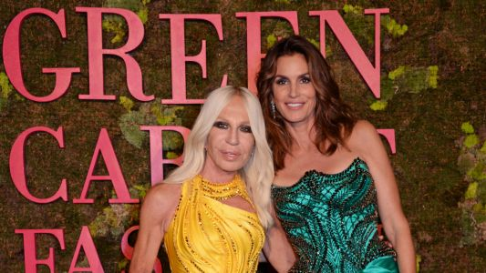 Alessandra Ambrosio, Cindy Crawford & More Attend Green Carpet Fashion Awards