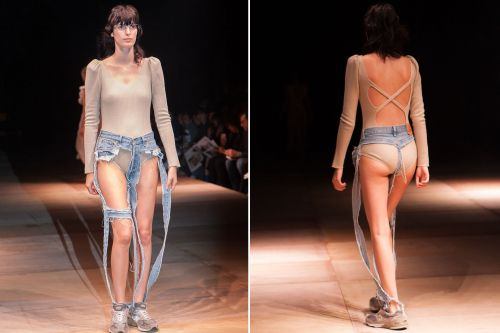 These 'thong' jeans are a disgrace to denim
