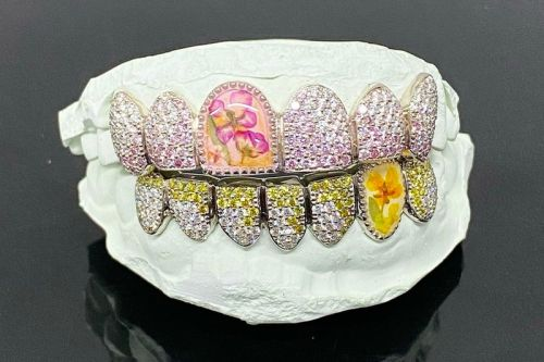 A$AP Rocky's New Grillz Are Made With Real Flowers