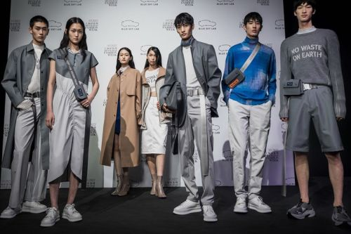 BLUE SKY LAB Debuts Sustainable Collection at Shanghai Fashion Week