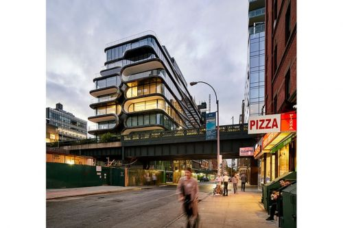 A Look at Zaha Hadid Architects' Completed '520 West 28th' New York Project