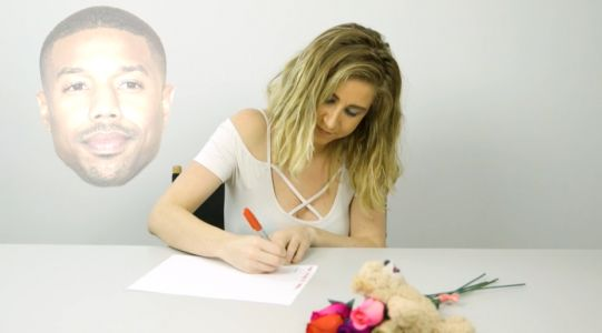 Nothing Says Valentine's Day Like Writing a Love Letter to Your Celeb Crush