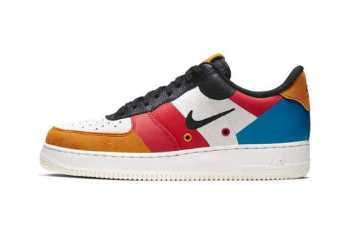 Nike Air Force 1 Receives PRM Colorblocked Makeover