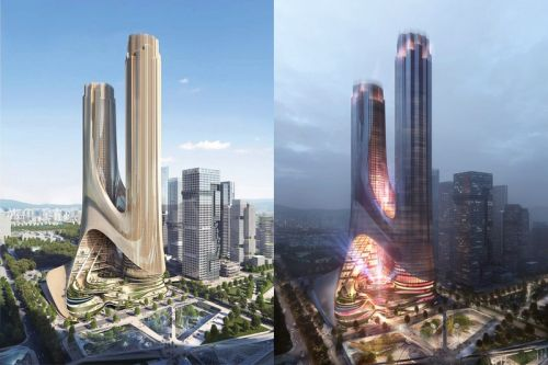 Zaha Hadid's Tower C Brings a Futuristic Addition to Shenzhen's Skyline