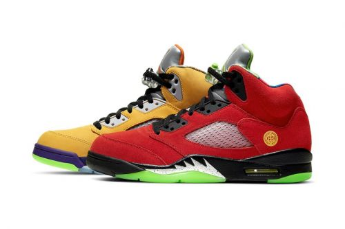 """The Air Jordan 5 """"What The"""" Combines Elements from Eight Separate Colorways"""