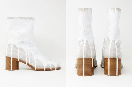 Maison Margiela Has Spilt Paint All Over Its Tabi Boots