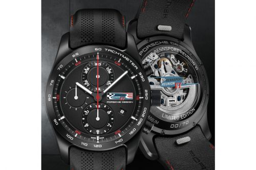Porsche Design Celebrates Porsche's 70th Anniversary with the Chronotimer Rennsport Reunion VI
