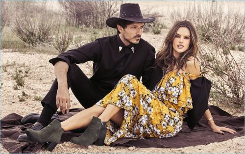 Andres Velencoso Embraces Western Style for xti Fall '18 Campaign