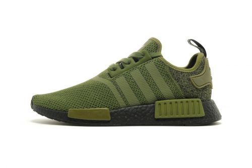 """Adidas' Winter-Ready NMD R1 """"Wool Heel"""" Surfaces in Olive"""