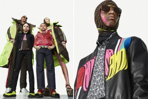 """Fendi Logos Get Fluorescent Curves in New """"Roma Amor"""" Capsule Collection"""