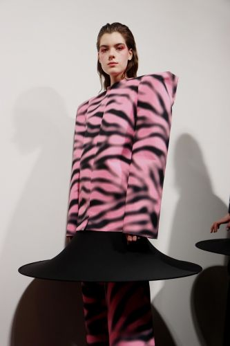 The next generation of talent coming out of CSM's MA fashion course