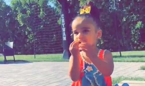 Dream Kardashian Hunts for Easter Eggs in the Most Adorable Video
