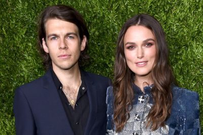 Keira Knightley's husband was a rock star - but she'd never even heard of him