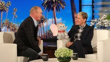 Michael Keaton And Ellen DeGeneres Bond Over Their Shared Comedy Roots