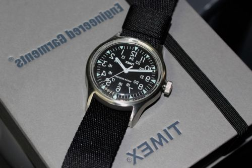 "Engineered Garments & BEAMS Rework the Timex ""Camper"""