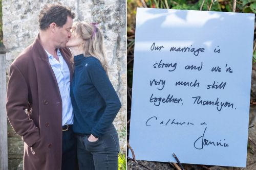 Dominic West and wife insist marriage 'is strong' after he's spotted with Lily James