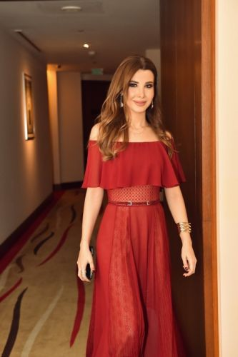 Nancy Ajram gave a phenomal performance wearing GEORGES HOBEIKA