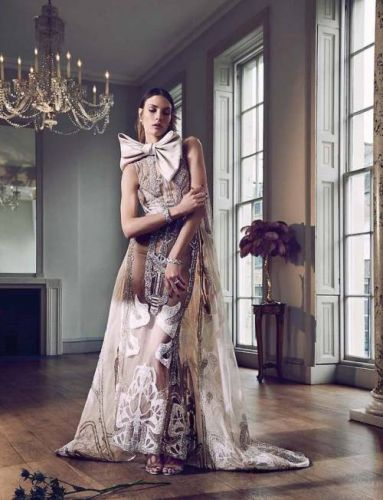 'Rare Finds'ELIE SAAB Haute Couture for the July issue of