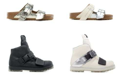 Rick Owens and Birkenstock debut second collaboration range