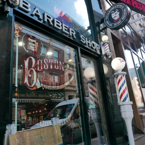 Cuts and Tats at Boston Barber & Tattoo Co