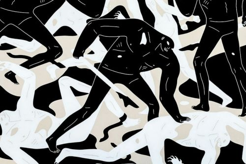"""Shadow of Men"": Cleon Peterson Prepares for Massive MCA Denver Exhibit"