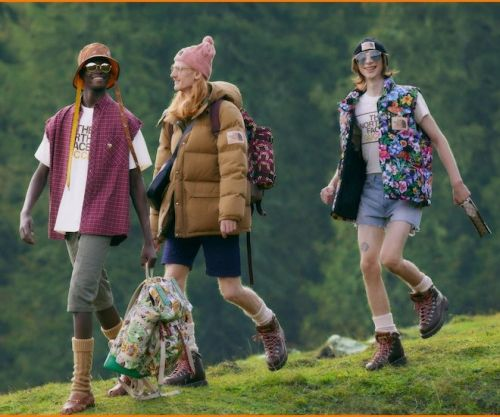 The North Face x Gucci Invites You To The Great Outdoors