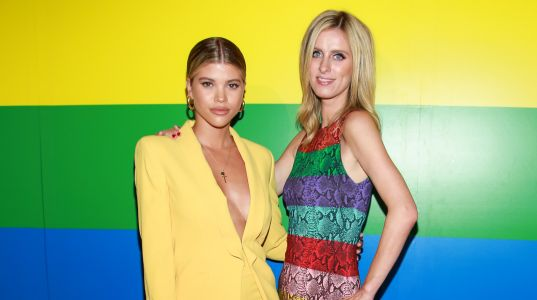 Sofia Richie Stuns in a Yellow Power Suit Alongside Nicky Hilton at N.Y.C. Pride Event