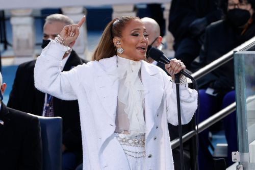 Jennifer Lopez - and her ring - dazzle during Biden Inauguration Day