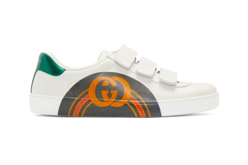 Gucci Dresses Its New Ace Sneakers With an Arched GG Midfoot Print
