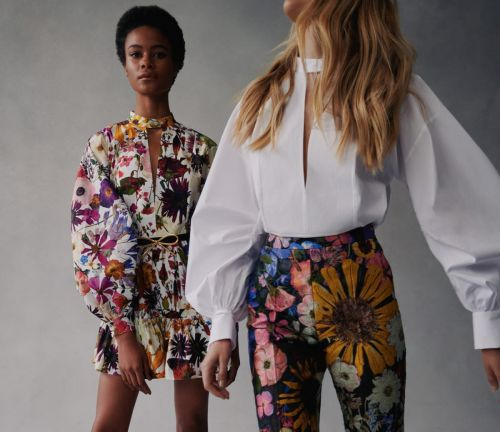 Oscar de la Renta Turns Late Summer Florals Into a Dreamy Fall 2021 Collection