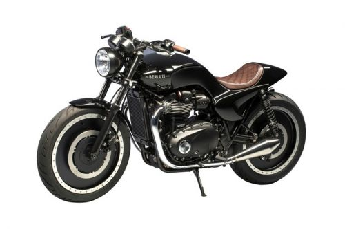 A Berluti-Custom Triumph Motorcycle Is Now up for Auction