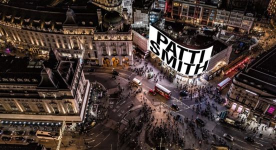 Patti Smith will celebrate New Year with a performance at Piccadilly Circus